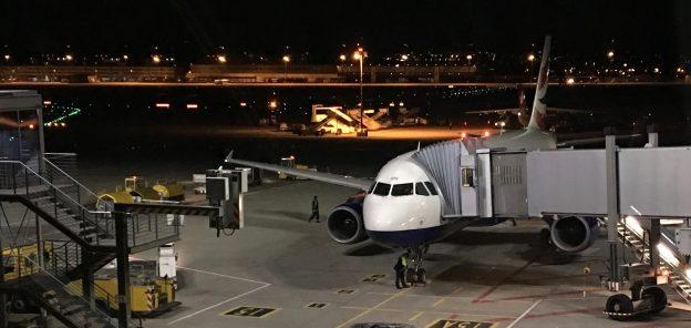 Das Flugzeug für meinen ersten Flug: Ein Airbus A320 von British Airways